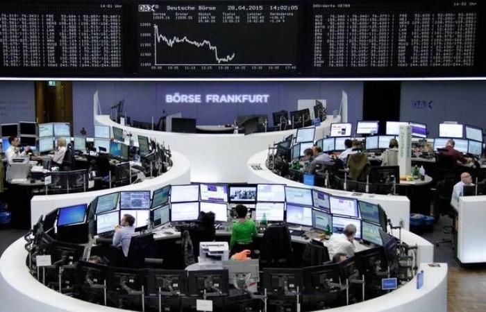 ارتفاع الأسهم الأوروبية في المستهل قبيل قرار البنك المركزي