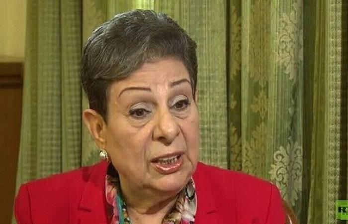 العشراوي: ضم غور الأردن انتهاك صارخ للقانون الدولي