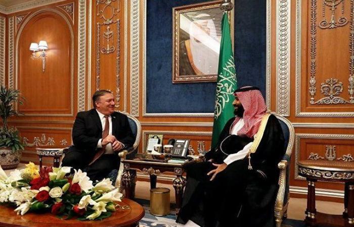 بومبيو: واشنطن تدعم حق السعودية في الدفاع عن نفسها