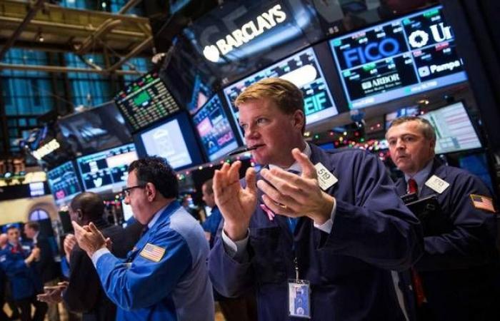 محدث..تباين أداء الأسهم الأمريكيةبالختام مع استيعاب قرار الفيدرالي