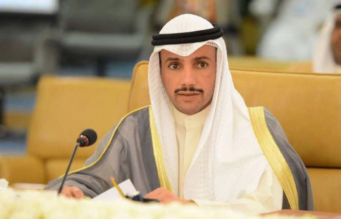 رئيس الأمة الكويتي يلتقي 4 رؤساء مجالس نيابية خليجية