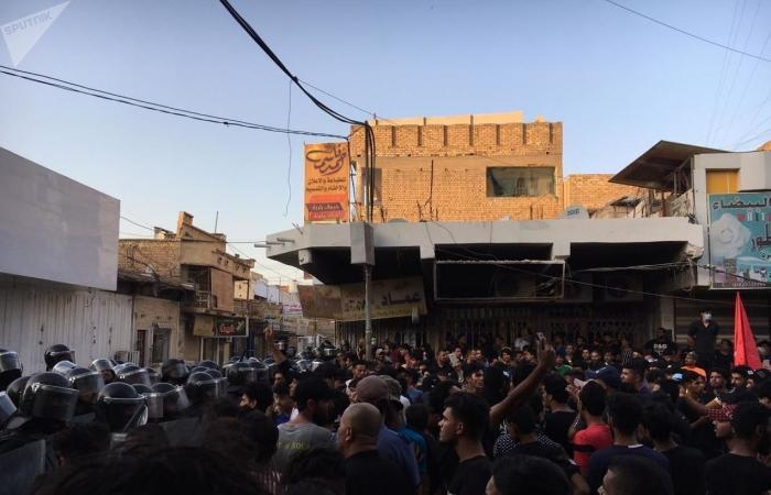 أحداث خفية من قمع تظاهرات ذي قار جنوبي العراق..صور+فيديو