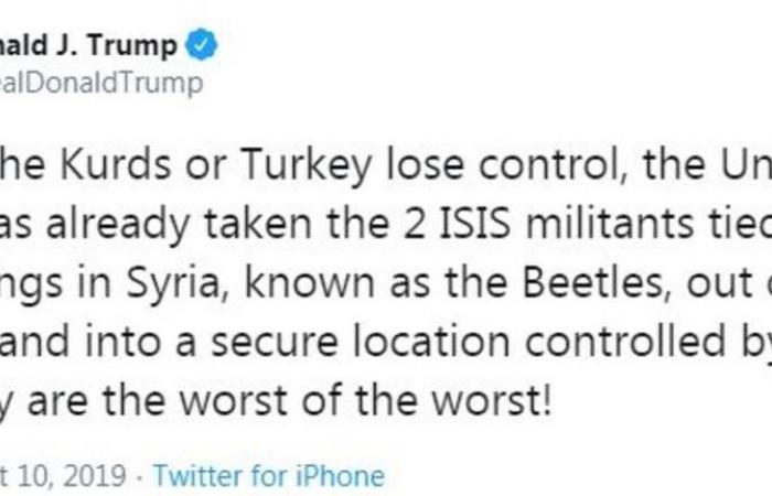 ترامب يهدد بمحو اقتصاد تركيا.. والكونجرس يُعد عقوبات