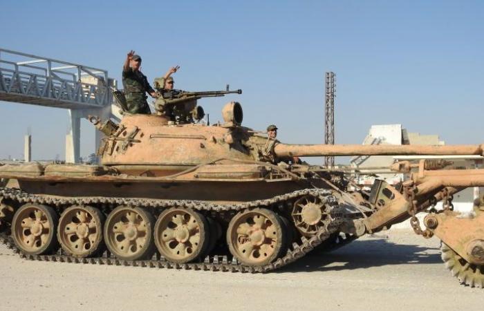 """وحدات من الجيش السوري تتحرك نحو عين العرب """"كوباني"""" الحدودية مع تركيا"""