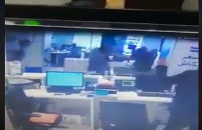شاهد بالفيديو : عملية السطو المسلح على بنك المحطة