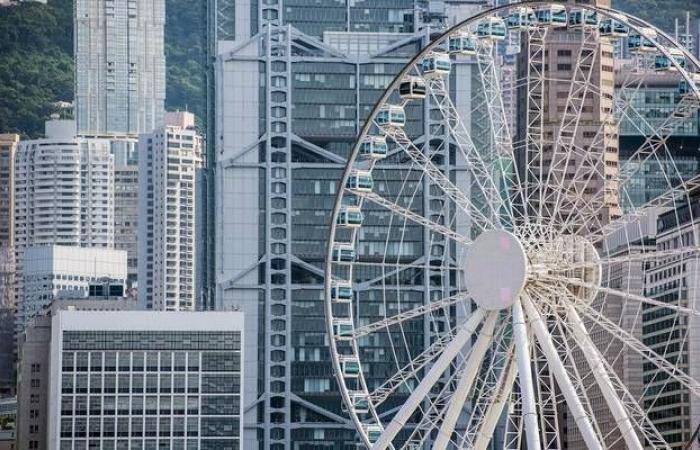 """أسهم """"هونج كونج"""" تواصل الخسائر للجلسة الرابعة مع الأزمة السياسية"""