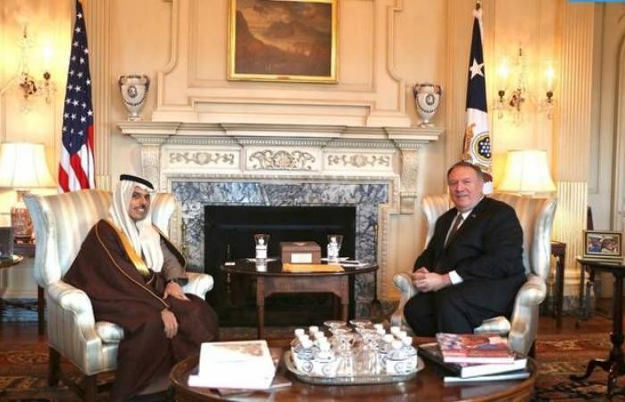 وزيرا خارجية السعودية وأمريكا يبحثان مستجدات الأوضاع بالمنطقة