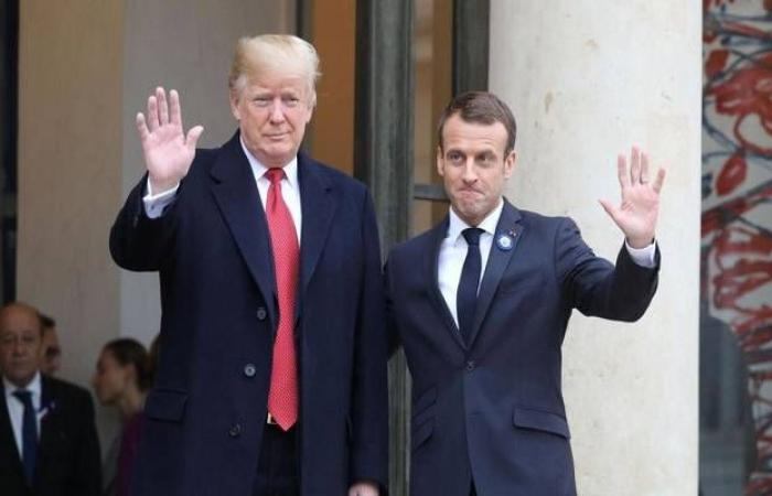 ترامب: الخلافات مع فرنسا بسيطة ويمكن حلها
