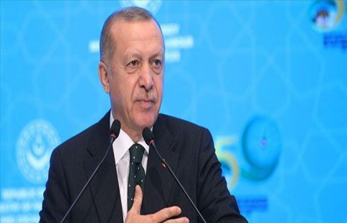أردوغان: بدء العمل على إسكان مليون شخص شمالي سوريا