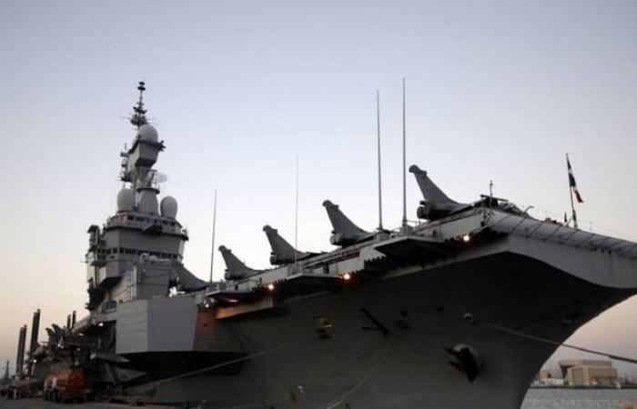 فرنسا تنشر حاملة الطائرات شارل ديجول بالشرق الأوسط