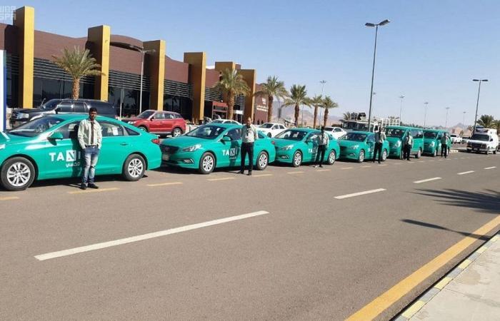 """تدشين """"التاكسي الأخضر"""" في السعودية الأسبوع الجاري"""