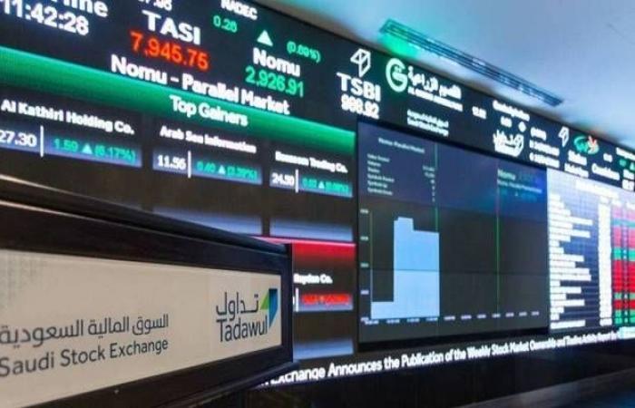 السوق السعودي يتراجع للجلسة الثانية بسيولة 3.65 مليار ريال
