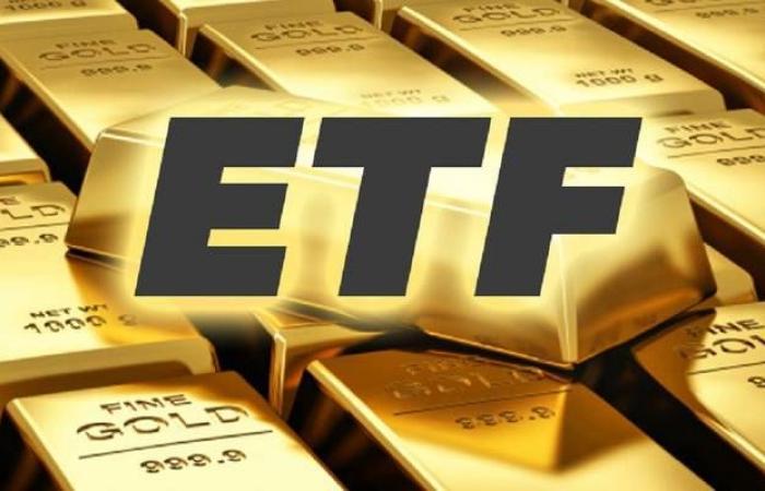 صناديق الاستثمار المتداولة في الذهب تصعد لمستوى قياسي