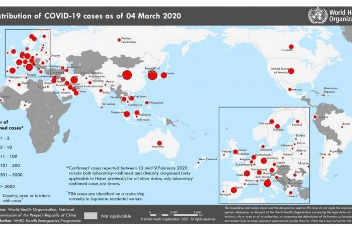 كورونا يصل لـ4 دول جديدة.. وتعافي 52 ألف شخص بالصين
