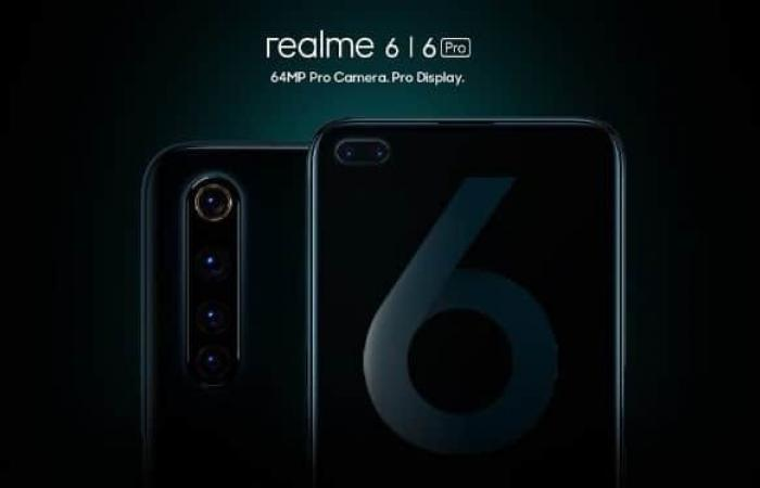 الإعلان رسميًا عن Realme 6 و Realme 6 Pro