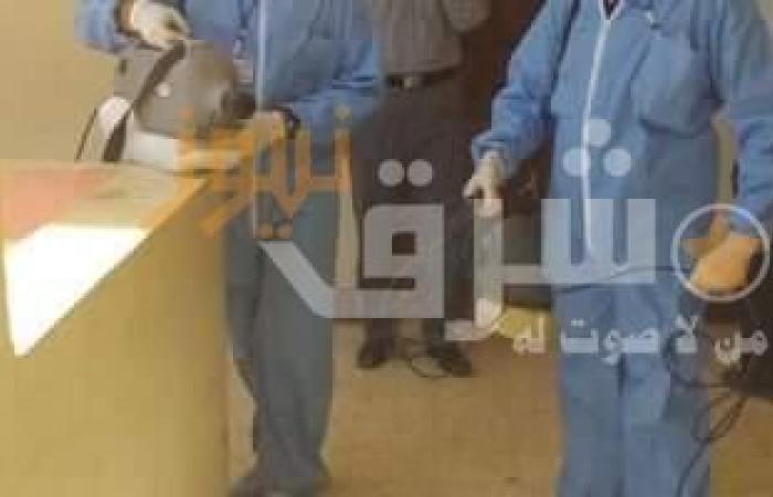 مواصلة تطهير وتعقيم المصالح الحكومية ورش الشوارع بسوهاج
