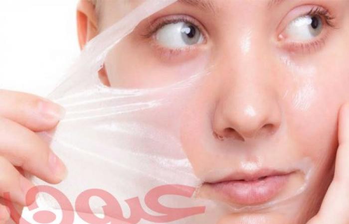 ماسك الجيلاتين لإزالة الشعر وتطهير مسام البشرة