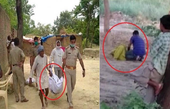 فيديو وصور الجريمة بالكامل.. ظل يضرب زوجته حتى الموت أمام طفلهما