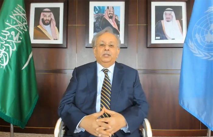 """عبر الاتصال المرئي.. """"المعلمي"""" يستعرض أمام مجلس الأمن جهود السعودية في مكافحة """"كورونا"""" محليًا ودوليًا"""