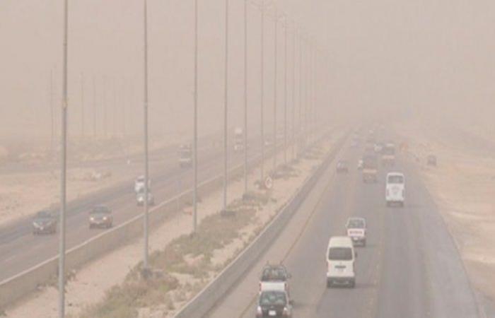"""""""الأرصاد"""": رياح مثيرة للأتربة والغبار على مكة والمدينة وطول الساحل الغربي للمملكة"""