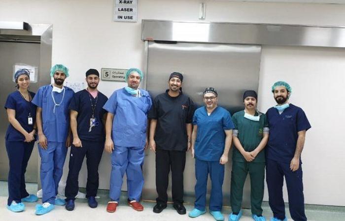 عملية نوعية ناجحة لعلاج 3 كسور مفصلية لسبعيني بمستشفى شرق جدة