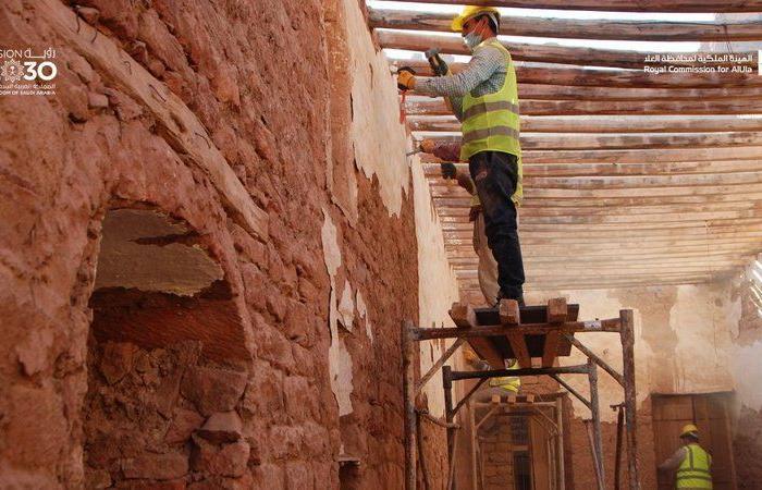 الهيئة الملكية بالعلا تنهي المرحلة الأولى من أعمال ترميم المساجد التاريخية