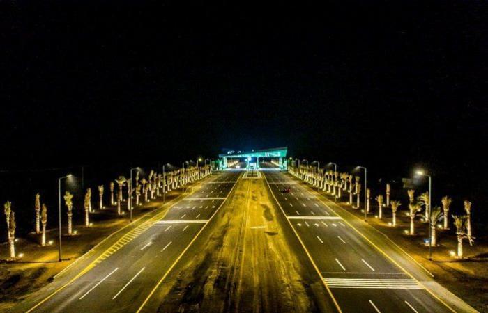 إنجاز مشروع بوابة طريق المدينة - القصيم يعبر عن المكانة التاريخية