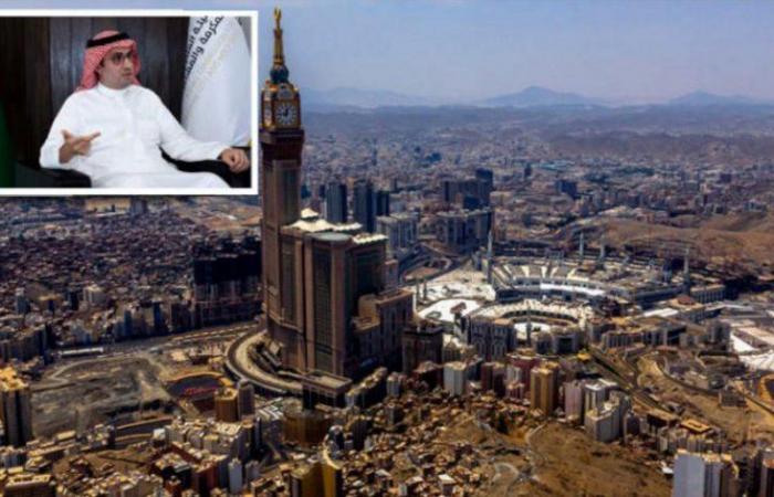 """""""عداس"""": الهيئة الملكية تسعى لجعل مكة مدينة مستدامة إدارياً ومالياً"""