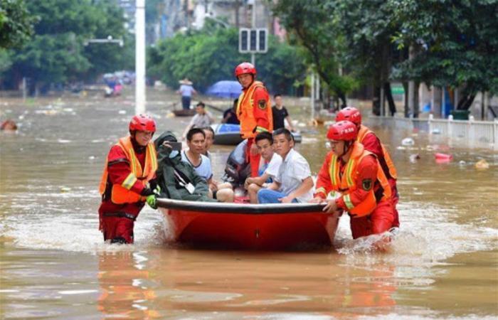 الفيضانات تغمر أنهار الصين.. مقتل 141 شخصًا وتضرُّر 28 ألف مسكن