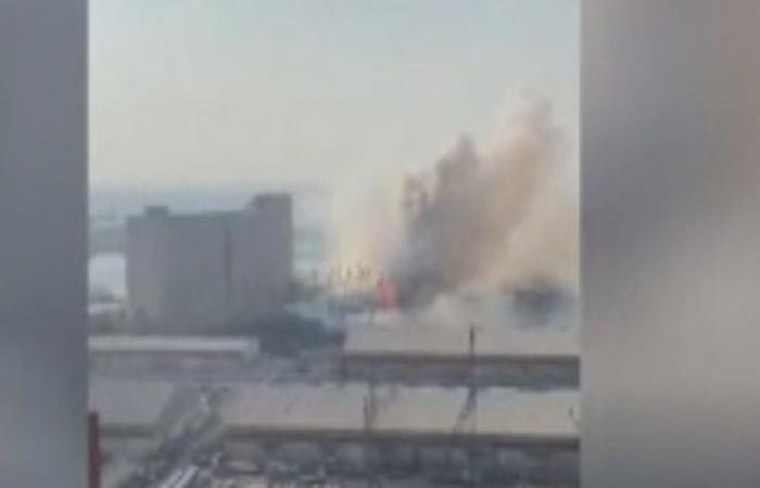 انفجار هائل يهز العاصمة اللبنانية بيروت .. بالفيديو