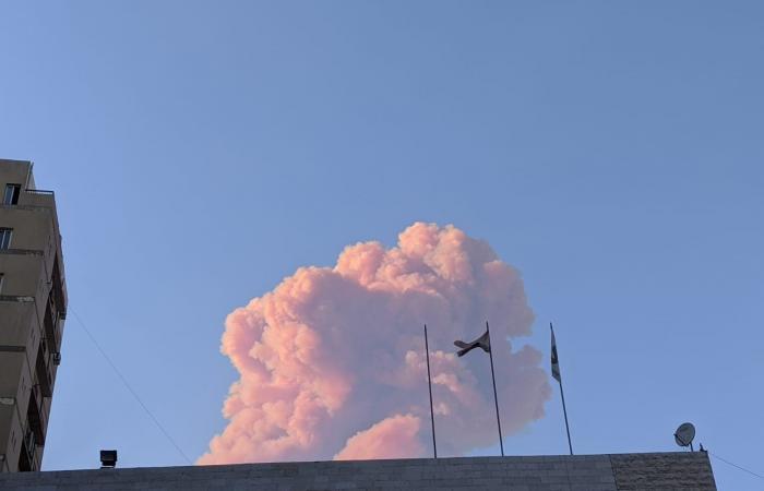 صور وفيديوهات جديدة للحظات الأولى لانفجار بيروت الضخم