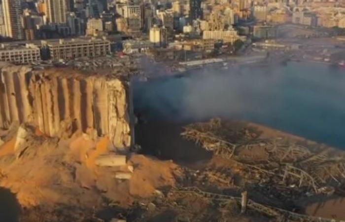 فيديو.. لقطات جوية توثّق آثار الدمار بعد يوم من انفجار بيروت