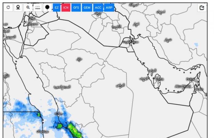 رياح وغبار وأمطار.. توقعات المسند عن طقس نهاية الأسبوع
