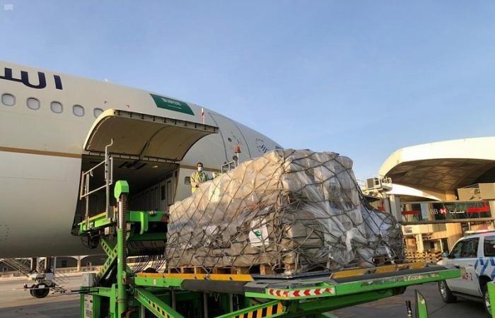 مركز الملك سلمان للإغاثة يُسيّر أولى طلائع الجسر الجوي السعودي للبنان لمساعدة منكوبي الانفجار في مرفأ بيروت