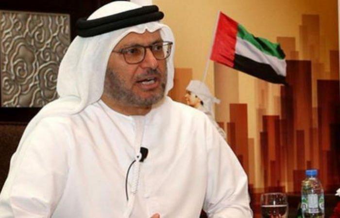 """""""الدوحة وبيروت"""".. """"قرقاش"""": """"أحداث خطيرة"""" تستدعي التلاحم العربي"""