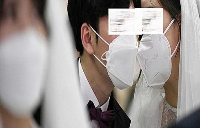 الأردن : حفل زفاف جماعي عن بعد