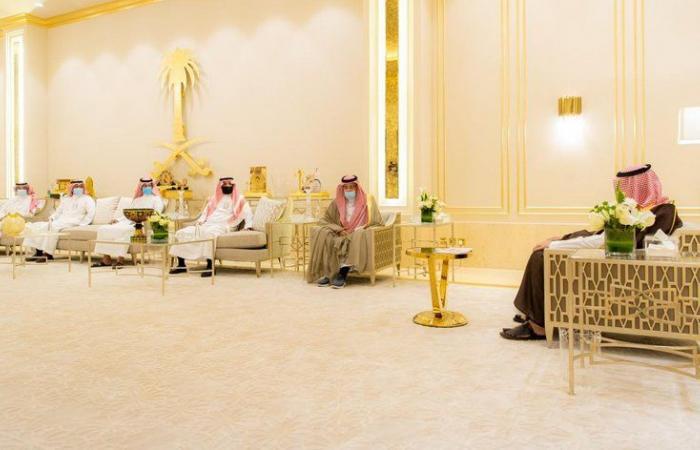 أمير الباحة يلتقي مدير التدريب التقني والمهني بالمنطقة