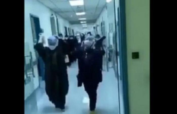 شاهد .. فرحة الكوادر الطبية في مدينة الملك سعود بإغلاق أجنحة العزل بعد تراجع إصابات كورونا