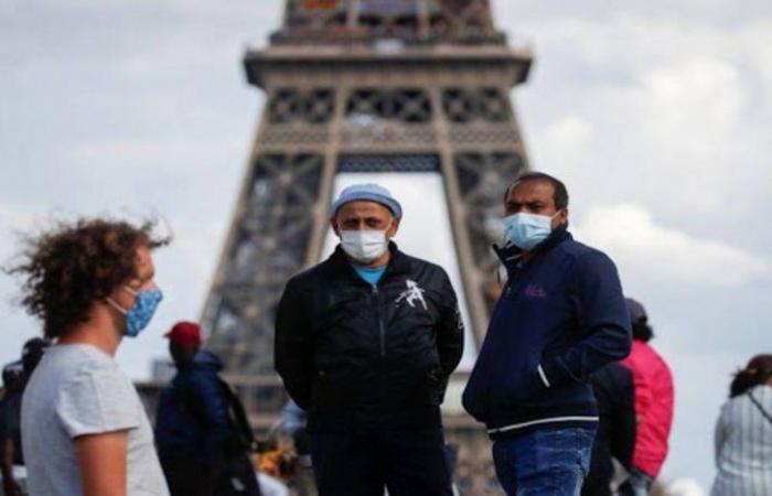 """قفزة يومية.. """"كورونا"""" يضم 1.397 شخصاً لمصابيه في فرنسا"""