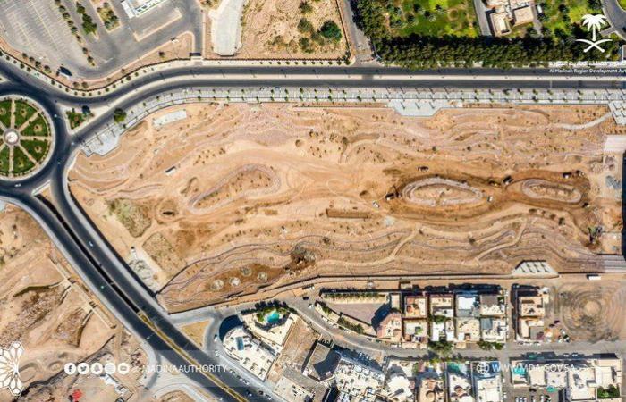 """""""تطوير المدينة"""" تنجز ٩٠٪ من مشروع تأهيل وادي العقيق"""