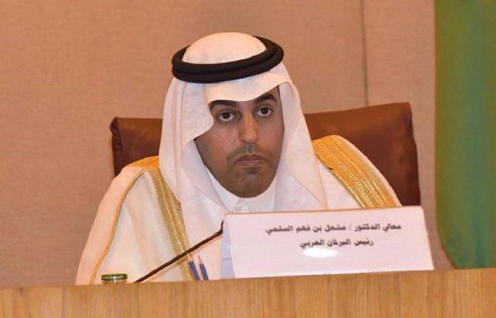 رئيس البرلمان العربي يُدين الاعتداء التركي السافر على العراق