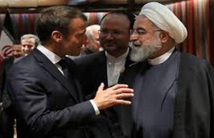 """""""ماكرون"""" يطالب """"روحاني"""" بالتوقف عن التدخل في لبنان"""