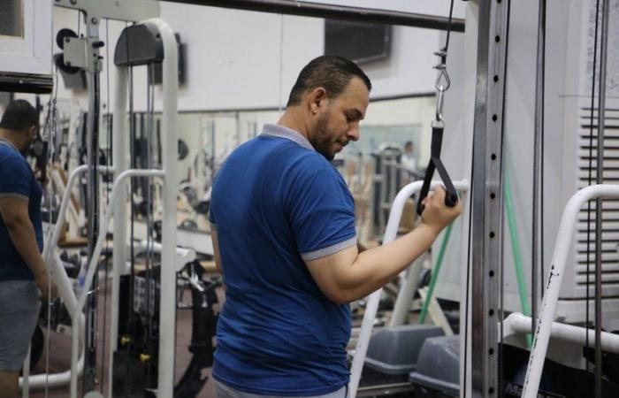 في الأسبوع الأول.. صالات لجنة الأفلاج الرياضية تستقبل 400 متدرب