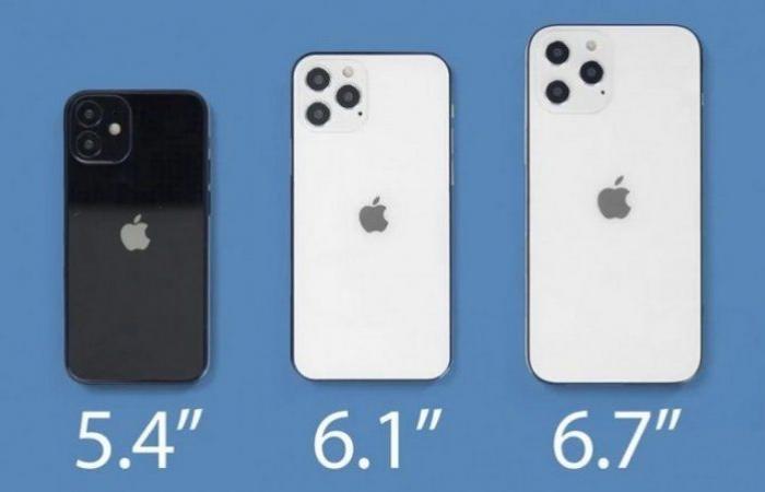 """""""أبل"""" تجهّز مفاجأة.. """"آيفون 12 ميني"""" أصغر هاتف على الإطلاق"""