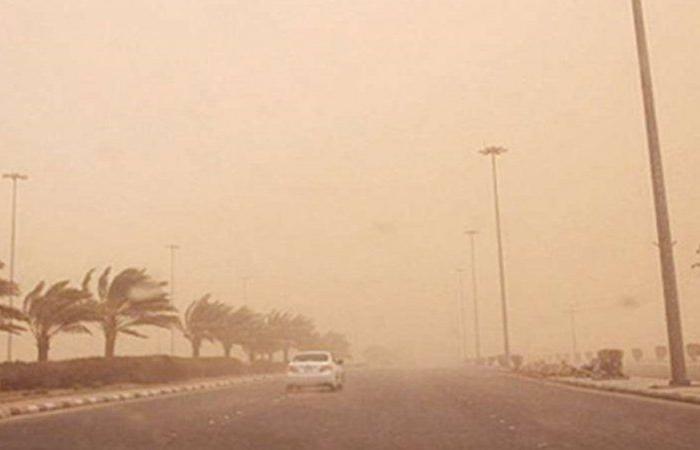 """""""الأرصاد"""": رياح مثيرة للغبار خلال النهار على مكة والمدينة وارتفاع في درجات الحرارة العظمى"""