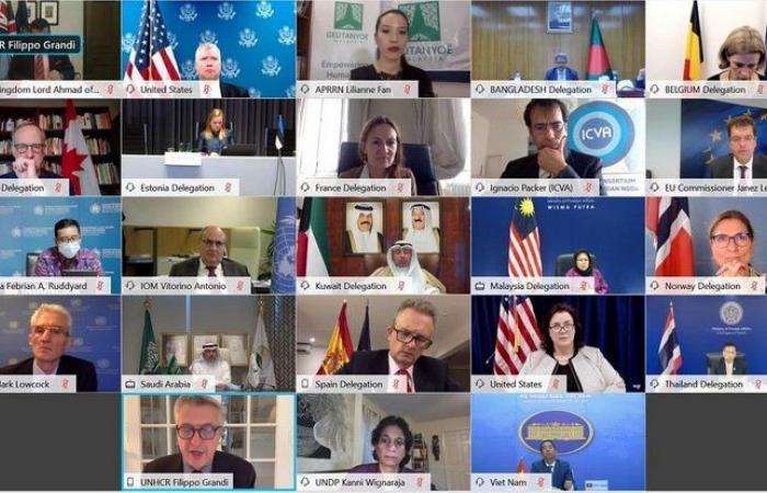 السعودية تشارك في مؤتمر المانحين في جنيف لدعم اللاجئين الروهينجا