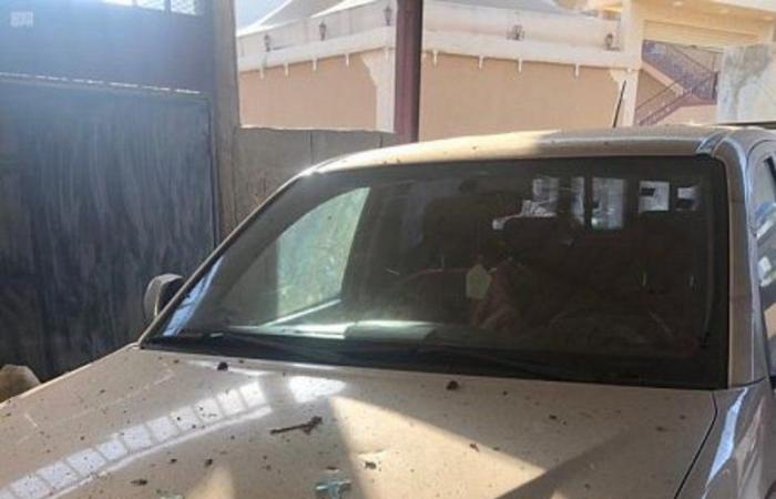 """""""مدني عسير"""": إصابة بسقوط شظايا على المدنيين بسراة عبيدة بعد اعتراض طائرة دون طيار حوثية"""