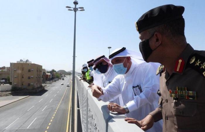 """مكة المكرمة.. """"طريق المدينة"""" يدخل تحت الرصد الآلي والسرعة 100 كم/س"""