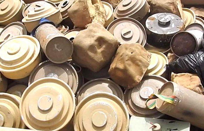 """""""مسام"""" ينتزع 1,550 لغمًا في اليمن خلال الأسبوع الثالث من أكتوبر"""
