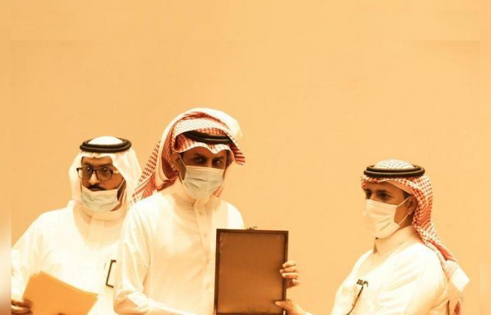 """""""الحربي"""" يكرم مفتشي ومفتشات """"عمل الرياض"""" لجهودهم في الحملات التفتيشية"""